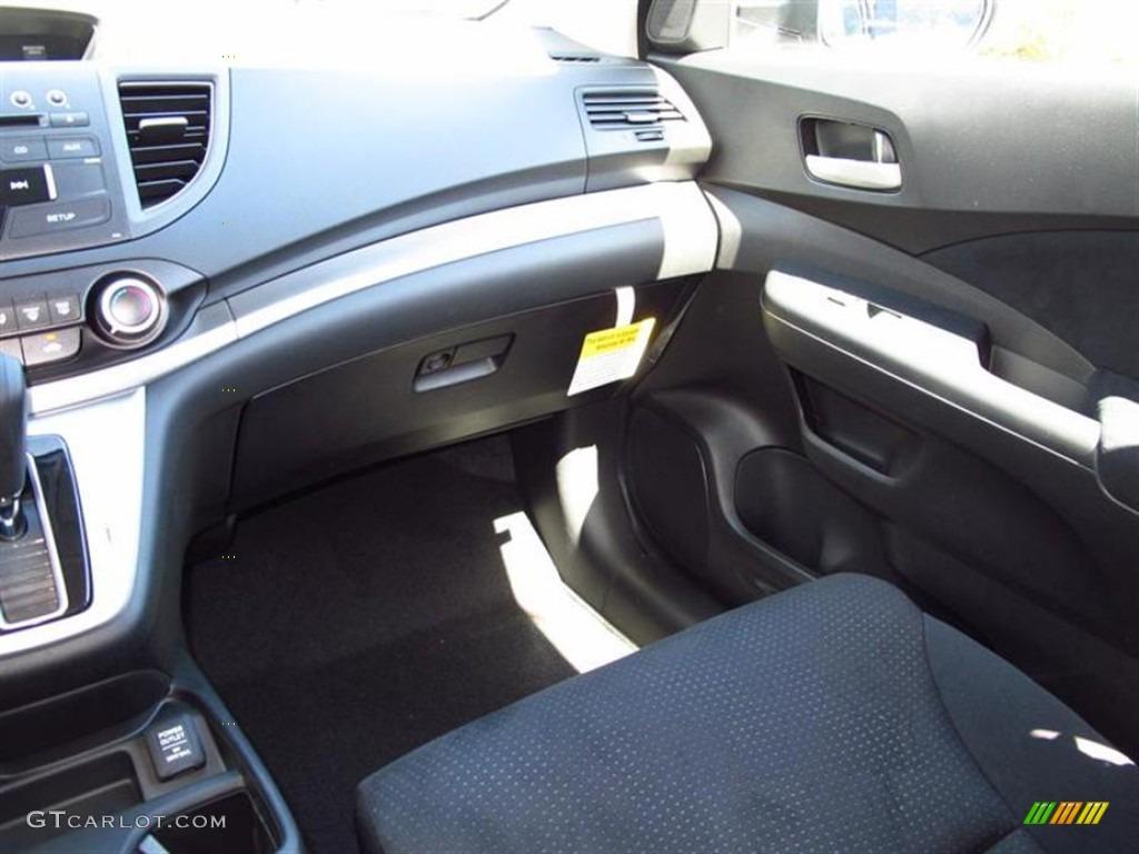 2012 CR-V EX 4WD - Alabaster Silver Metallic / Black photo #7