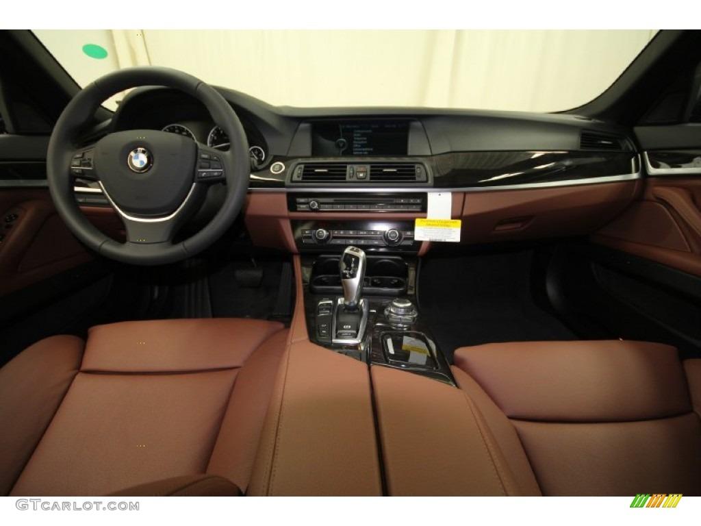 2012 Bmw 5 Series 550i Sedan Cinnamon Brown Dashboard Photo 61847490