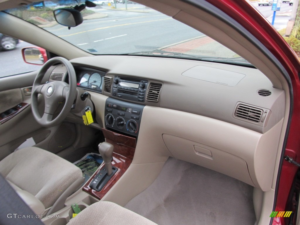 2003 Toyota Corolla LE Interior Photo #61851057