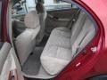 Pebble Beige 2003 Toyota Corolla Interiors