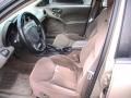 2001 Pontiac Grand Am Dark Taupe Interior Front Seat Photo