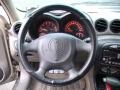2001 Pontiac Grand Am Dark Taupe Interior Steering Wheel Photo