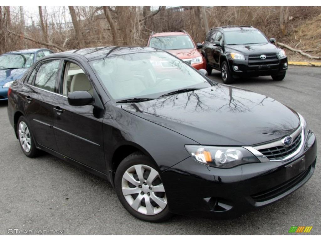 2009 Subaru Impreza 2.5 I >> Obsidian Black Pearl 2009 Subaru Impreza 2 5i Sedan Exterior