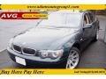 Oxford Green Metallic 2003 BMW 7 Series Gallery