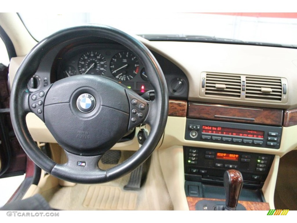 2000 BMW 5 Series 528i Sedan Sand Dashboard Photo 61870763