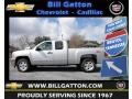 2012 Silver Ice Metallic Chevrolet Silverado 1500 LT Extended Cab  photo #1