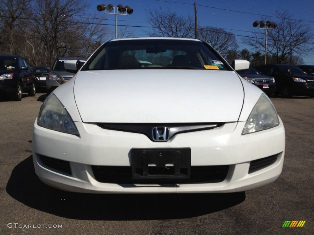 2004 Taffeta White Honda Accord Ex V6 Coupe 61868693