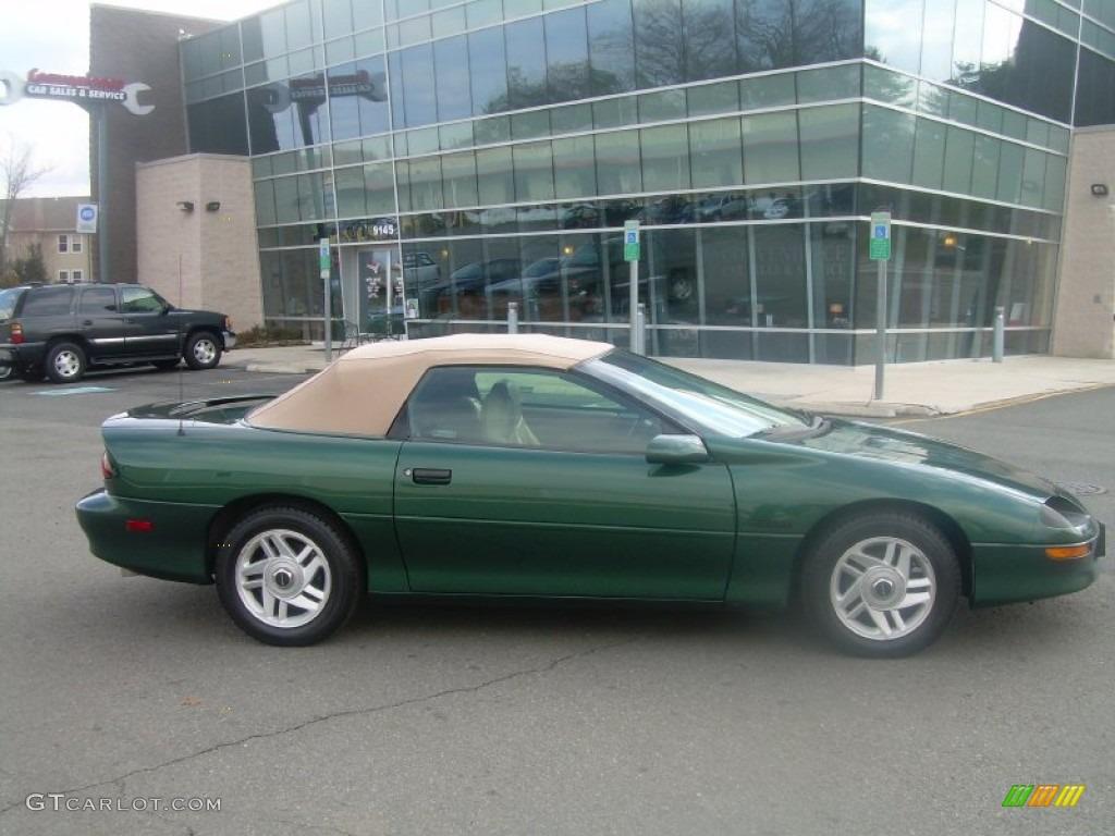 1995 Polo Green Metallic Chevrolet Camaro Z28 Convertible 61868251 Car Color