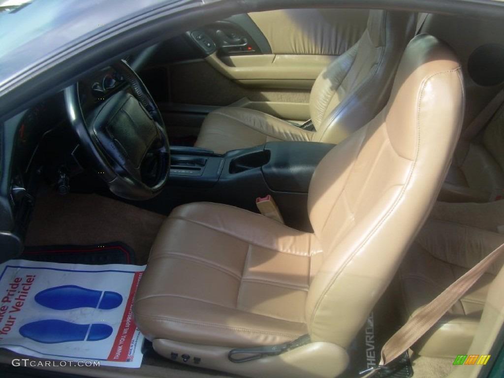 1995 Polo Green Metallic Chevrolet Camaro Z28 Convertible 61868251 Photo 11