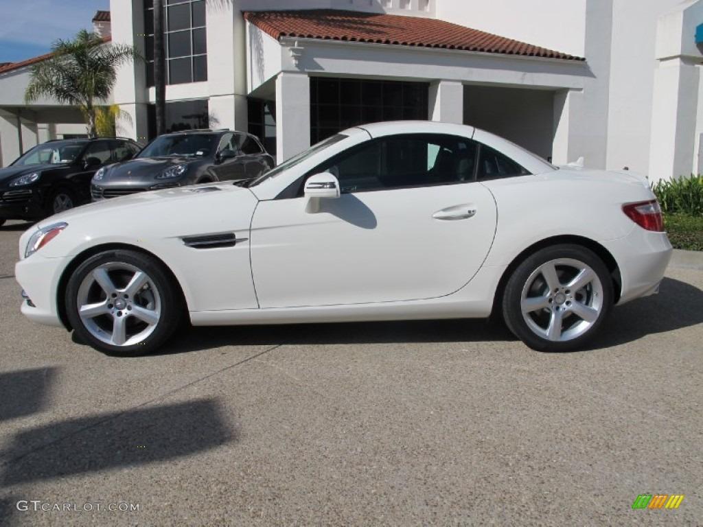 2012 arctic white mercedes benz slk 250 roadster 61868234 photo 2 car color. Black Bedroom Furniture Sets. Home Design Ideas