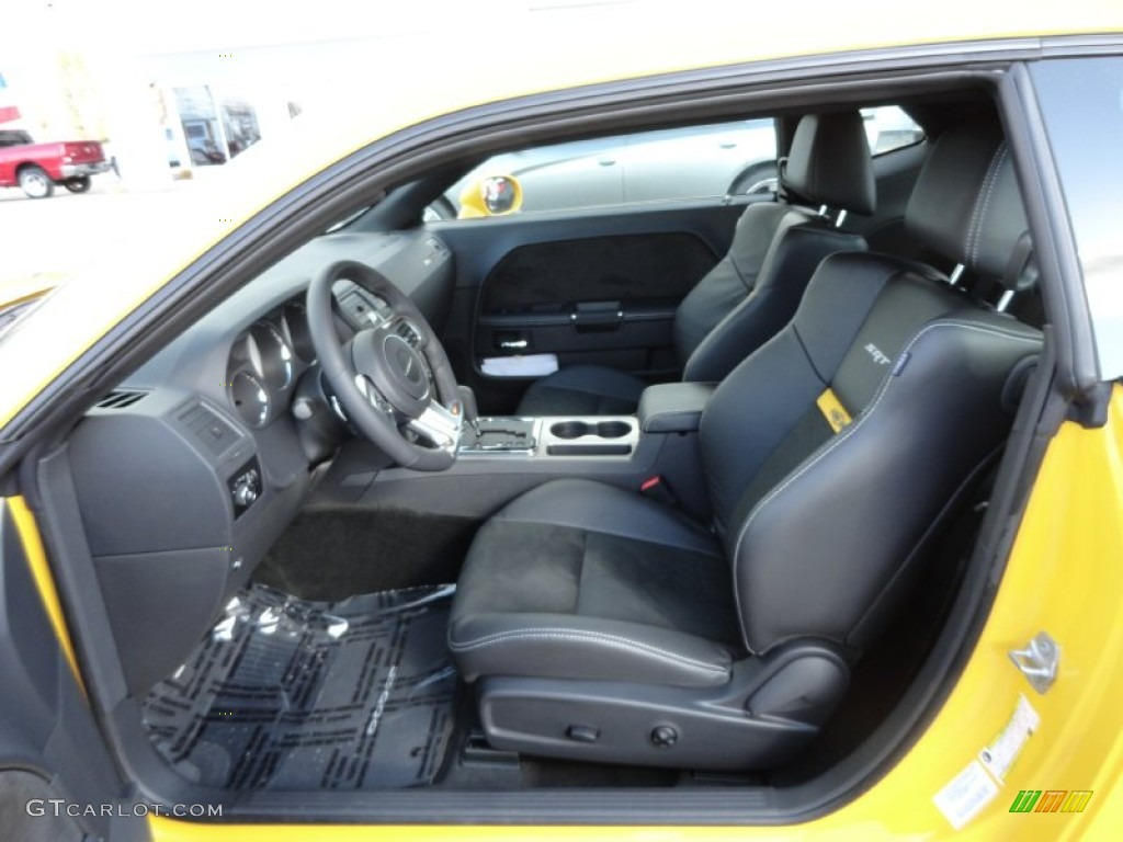 2012 Dodge Challenger Srt8 Yellow Jacket Interior Photo 61909086