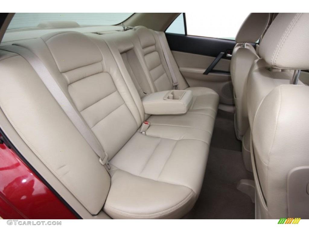 Beige Interior 2006 Mazda Mazda6 S Sport Sedan Photo 61913278 Gtcarlot Com