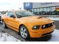 2007 Grabber Orange Ford Mustang GT Premium Coupe  photo #16