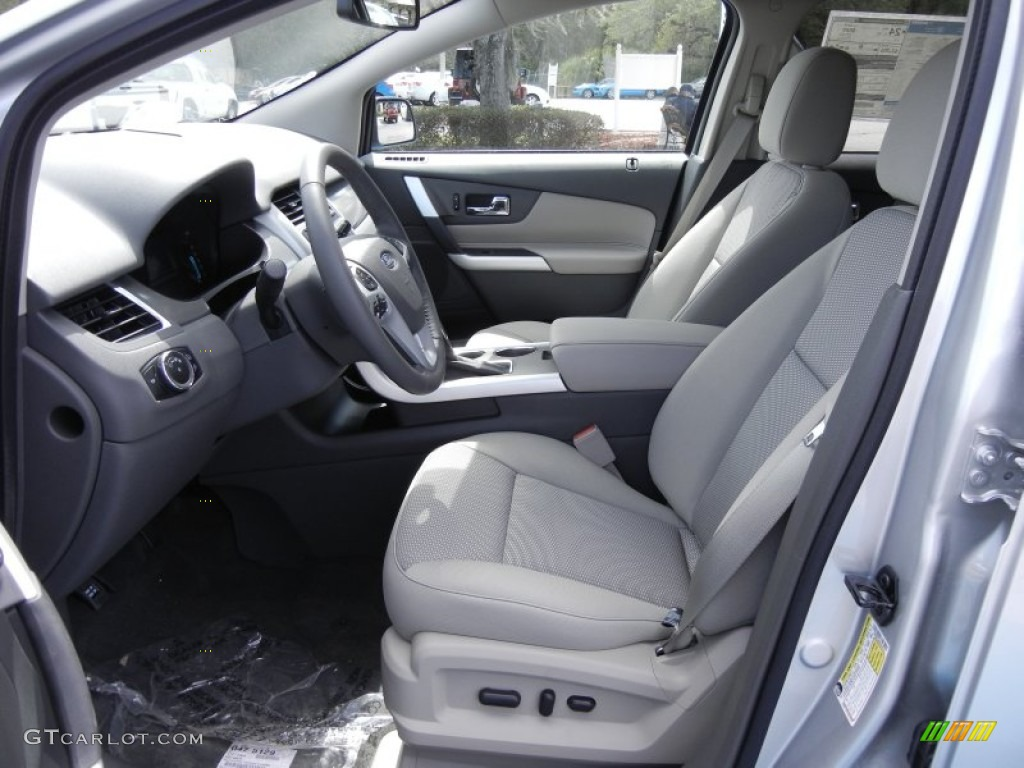 medium light stone interior 2013 ford edge sel ecoboost. Black Bedroom Furniture Sets. Home Design Ideas
