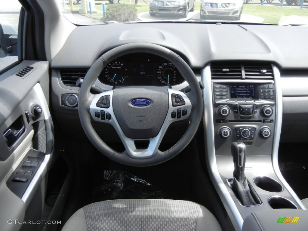 Ford Edge Sel Ecoboost Medium Light Stone Dashboard Photo