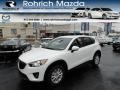 2013 Crystal White Pearl Mica Mazda CX-5 Touring  photo #1