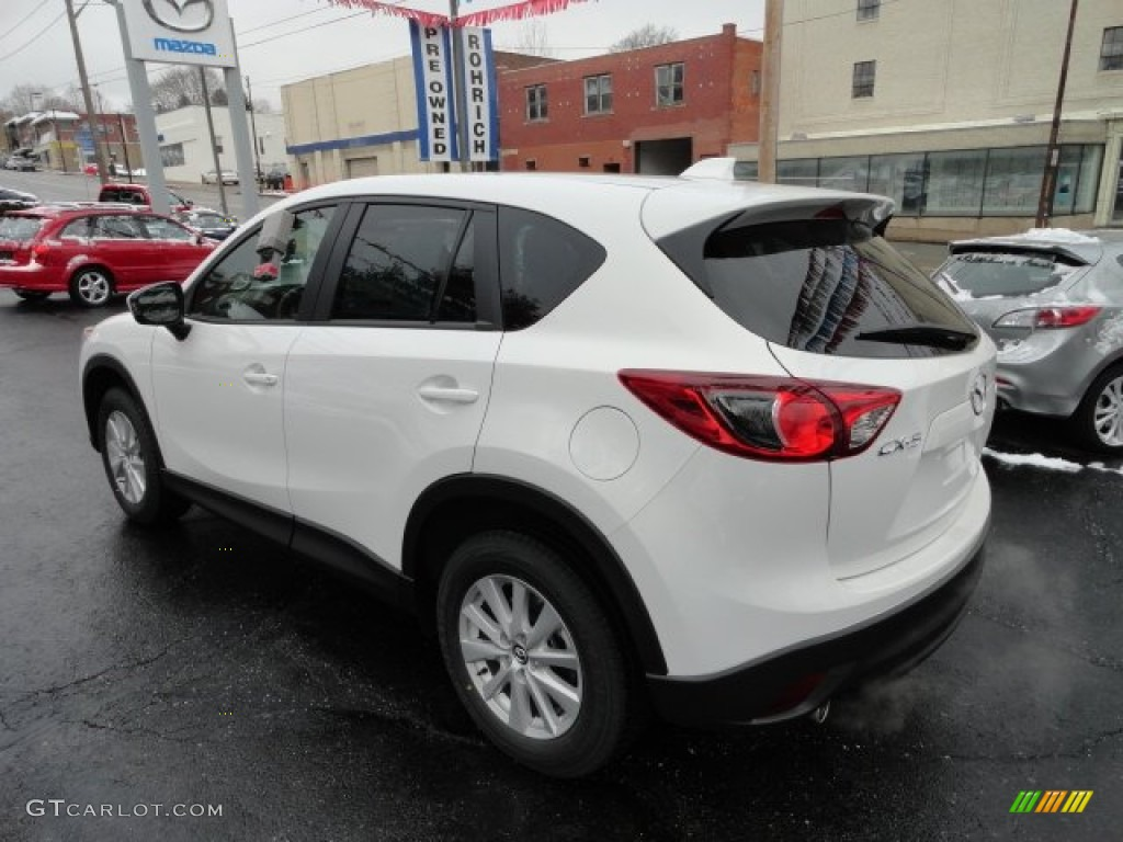 Mazda Cx 5 Color Code >> Crystal White Pearl Mica 2013 Mazda CX-5 Touring Exterior Photo #61924171 | GTCarLot.com