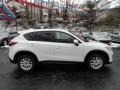 2013 Crystal White Pearl Mica Mazda CX-5 Touring  photo #6