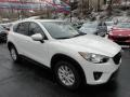 2013 Crystal White Pearl Mica Mazda CX-5 Touring  photo #7