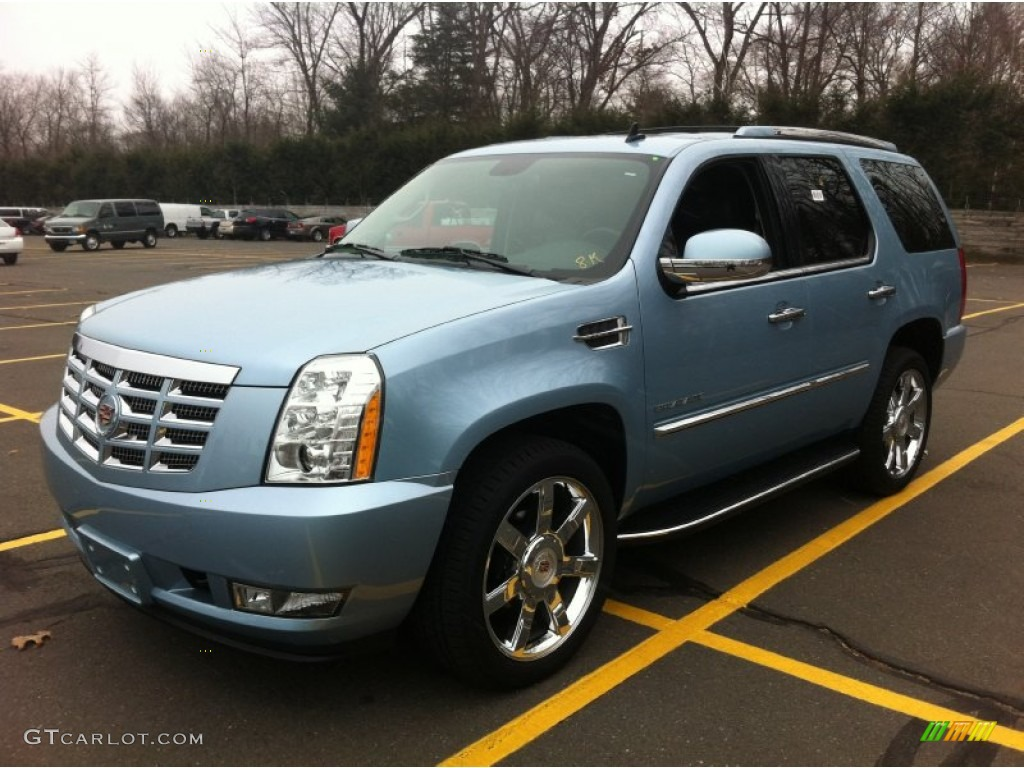 2011 celestial blue metallic cadillac escalade luxury awd 61907955 car color. Black Bedroom Furniture Sets. Home Design Ideas