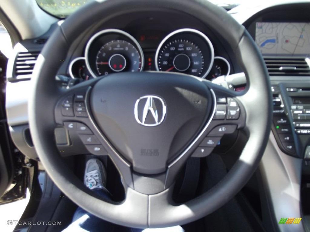 Acura TL Advance Ebony Steering Wheel Photo - Acura tl steering wheel