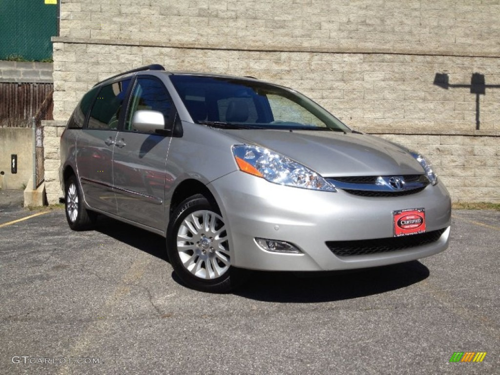 2009 silver shadow pearl toyota sienna limited awd. Black Bedroom Furniture Sets. Home Design Ideas