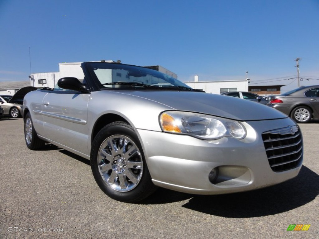 bright silver metallic 2004 chrysler sebring limited convertible. Cars Review. Best American Auto & Cars Review