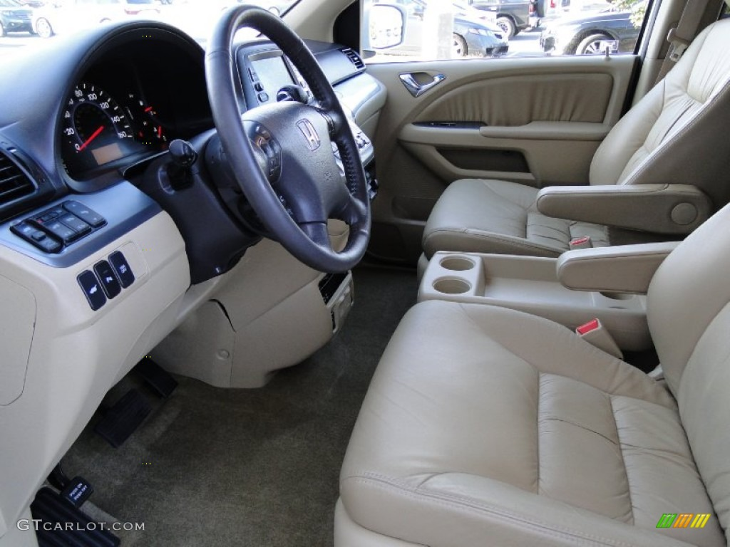 beige interior 2010 honda odyssey touring photo 61953513