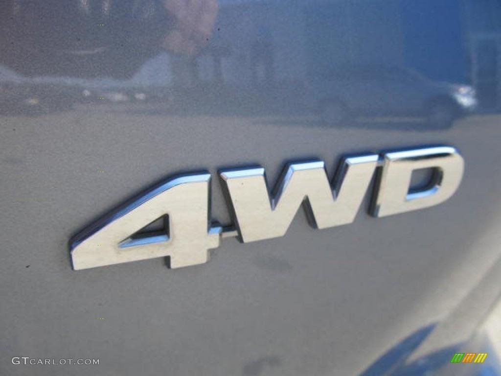 2011 CR-V SE 4WD - Glacier Blue Metallic / Gray photo #14