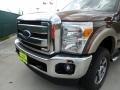 2012 Golden Bronze Metallic Ford F250 Super Duty Lariat Crew Cab 4x4  photo #10