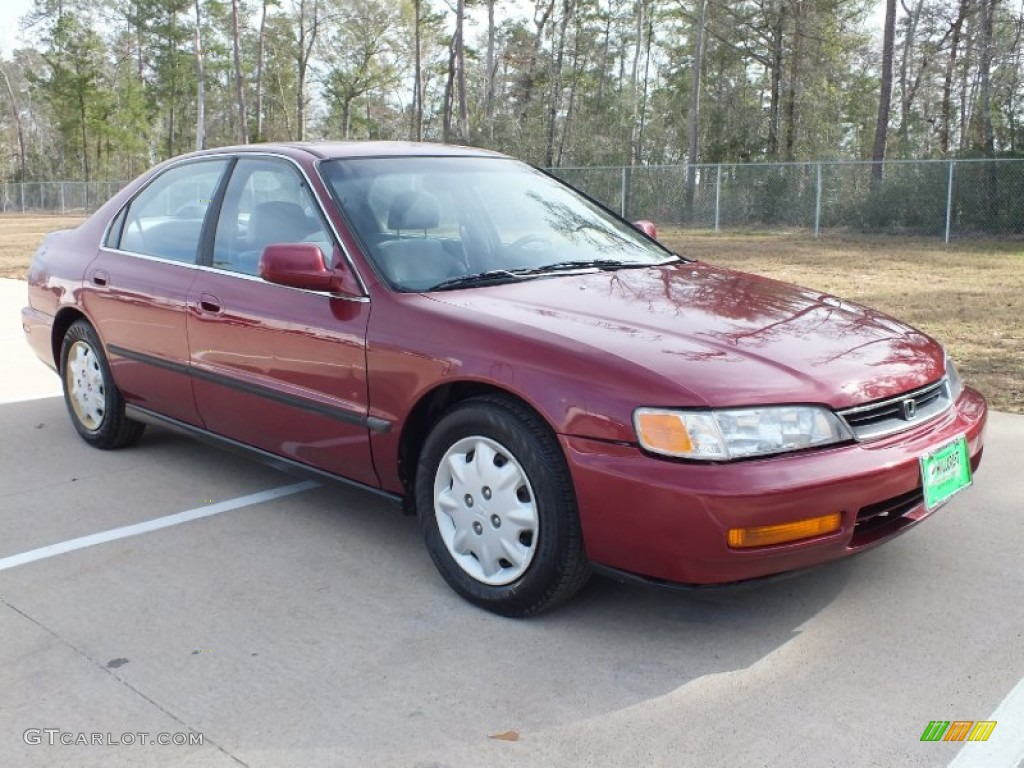 Awesome Bordeaux Red Pearl Honda Accord. Honda Accord LX Sedan