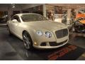 Ghost White 2012 Bentley Continental GT