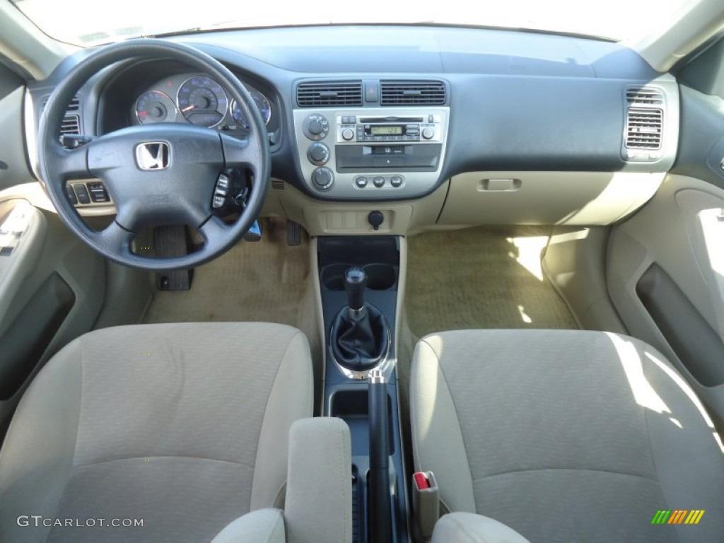 Honda honda civic 2003 hybrid : 2003 Honda Civic Hybrid Sedan Beige Dashboard Photo #61973655 ...