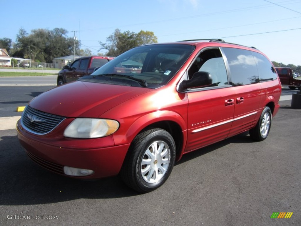 Inferno red pearl 2001 chrysler town country lxi - 2001 chrysler town and country interior ...