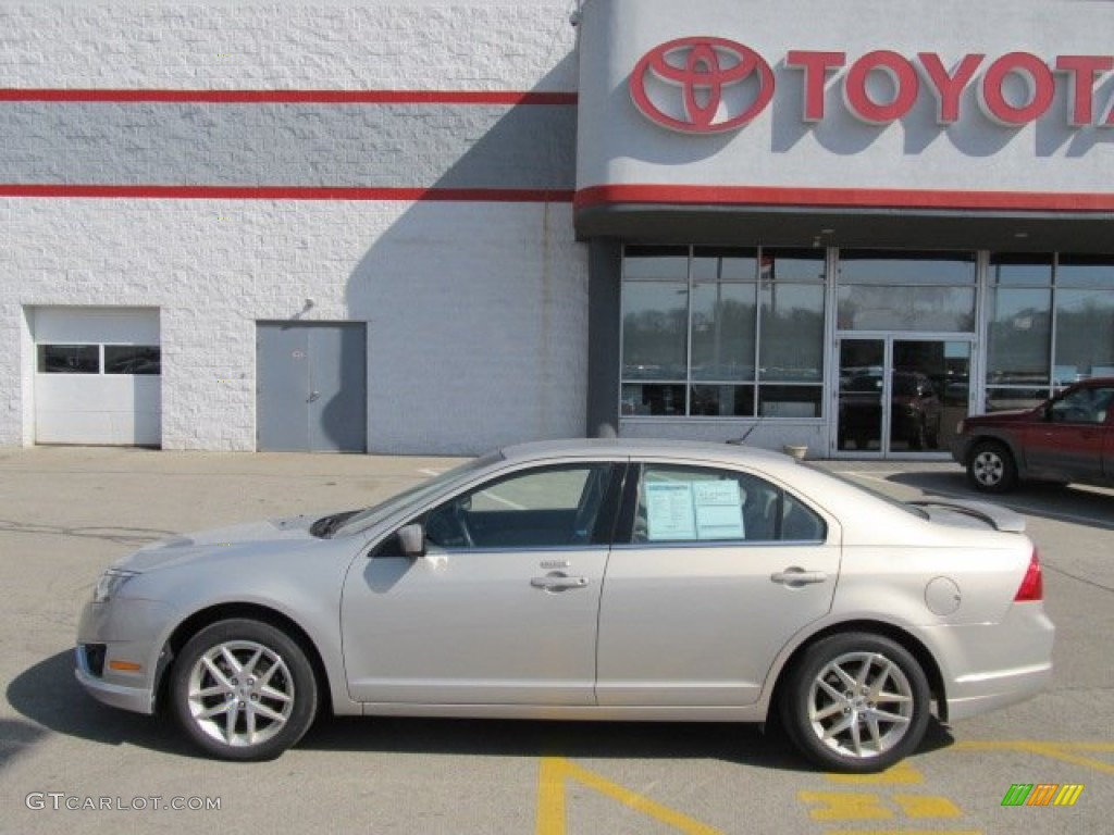 2010 Fusion SEL V6 AWD - Smokestone Metallic / Medium Light Stone photo #2