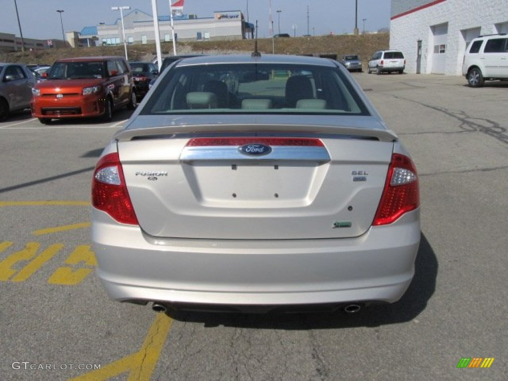 2010 Fusion SEL V6 AWD - Smokestone Metallic / Medium Light Stone photo #7