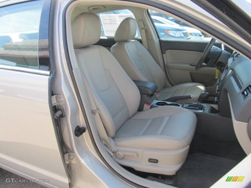 2010 Fusion SEL V6 AWD - Smokestone Metallic / Medium Light Stone photo #11