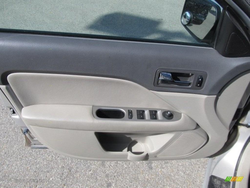 2010 Fusion SEL V6 AWD - Smokestone Metallic / Medium Light Stone photo #13