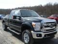 2012 Green Gem Metallic Ford F250 Super Duty XLT SuperCab 4x4  photo #2