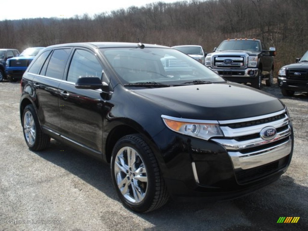 tuxedo black metallic 2013 ford edge limited awd exterior photo 62001041. Black Bedroom Furniture Sets. Home Design Ideas