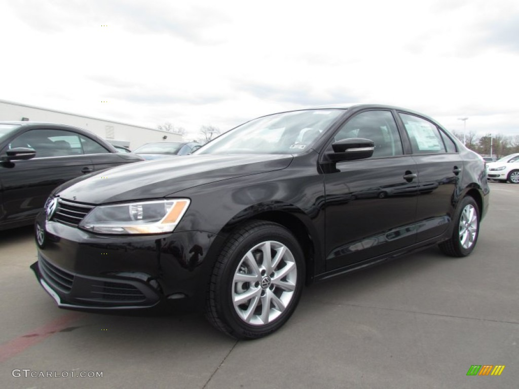 2012 black volkswagen jetta se sedan 61966726 car color galleries. Black Bedroom Furniture Sets. Home Design Ideas