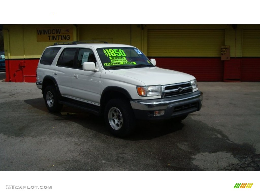 1999 natural white toyota 4runner sr5 61966695 car color galleries. Black Bedroom Furniture Sets. Home Design Ideas