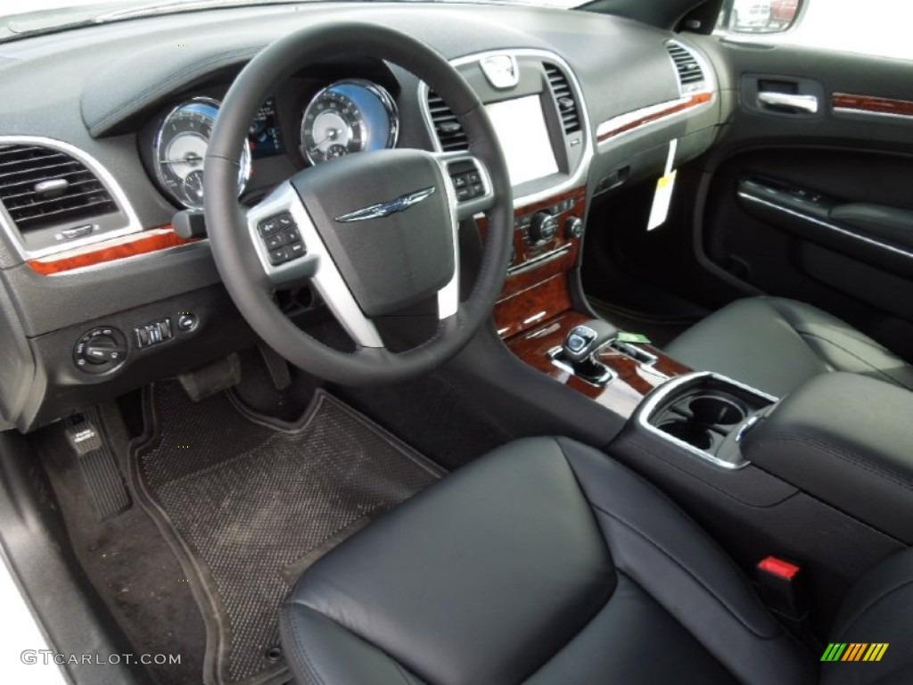 Black Interior 2012 Chrysler 300 Limited Photo 62016681
