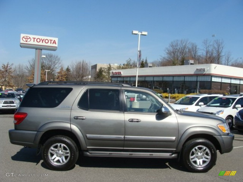 2007 Phantom Gray Pearl Toyota Sequoia Limited 4wd 61966587 Car Color Galleries