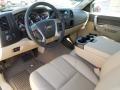 2012 Mocha Steel Metallic Chevrolet Silverado 1500 LT Crew Cab 4x4  photo #23