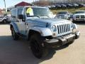 2012 Winter Chill Pearl Jeep Wrangler Sahara Arctic Edition 4x4  photo #8
