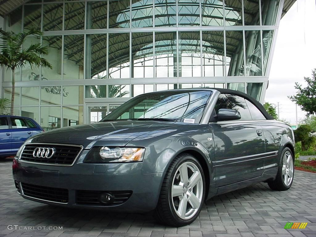 2006 dolphin gray metallic audi a4 1 8t cabriolet 6185045. Black Bedroom Furniture Sets. Home Design Ideas