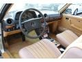 1985 E Class 300 CD Coupe Palomino Interior
