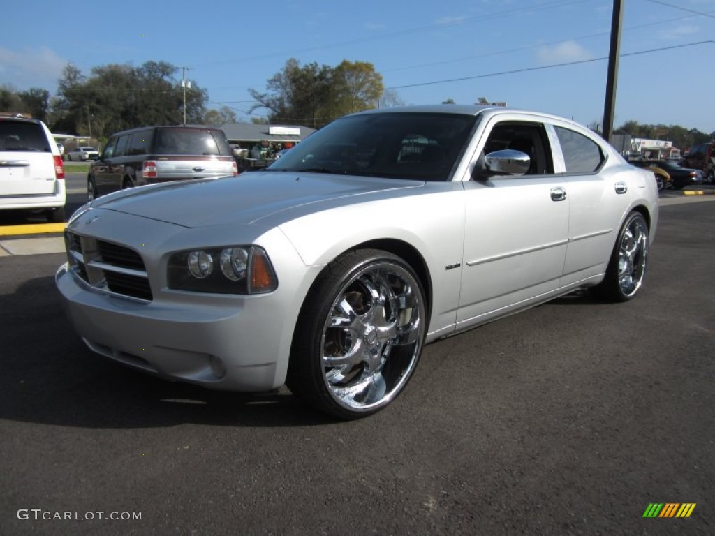 Bright Silver Metallic 2006 Dodge Charger R T Exterior