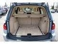 2006 BMW X3 Sand Beige Interior Trunk Photo
